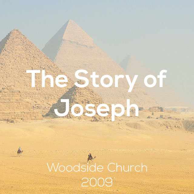 The Story of Joseph (Part 1)