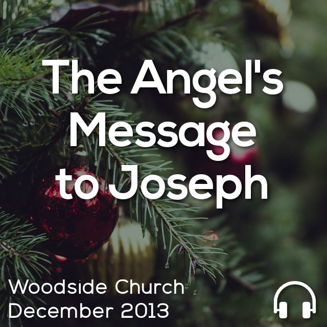 The Angel's Message to Joseph