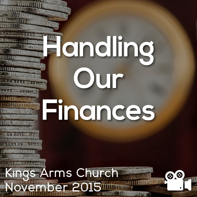 Handling Our Finances