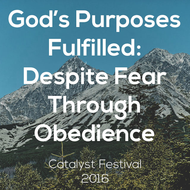 God's Purposes Fulfilled