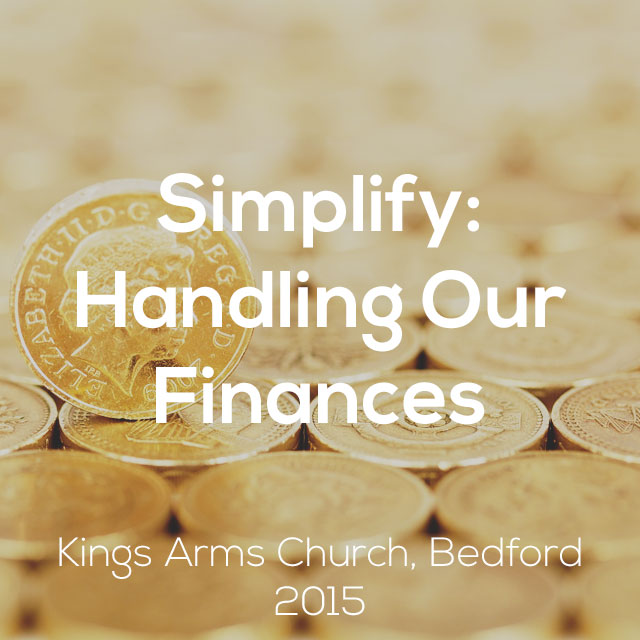 Simplify: Handling Our Finances